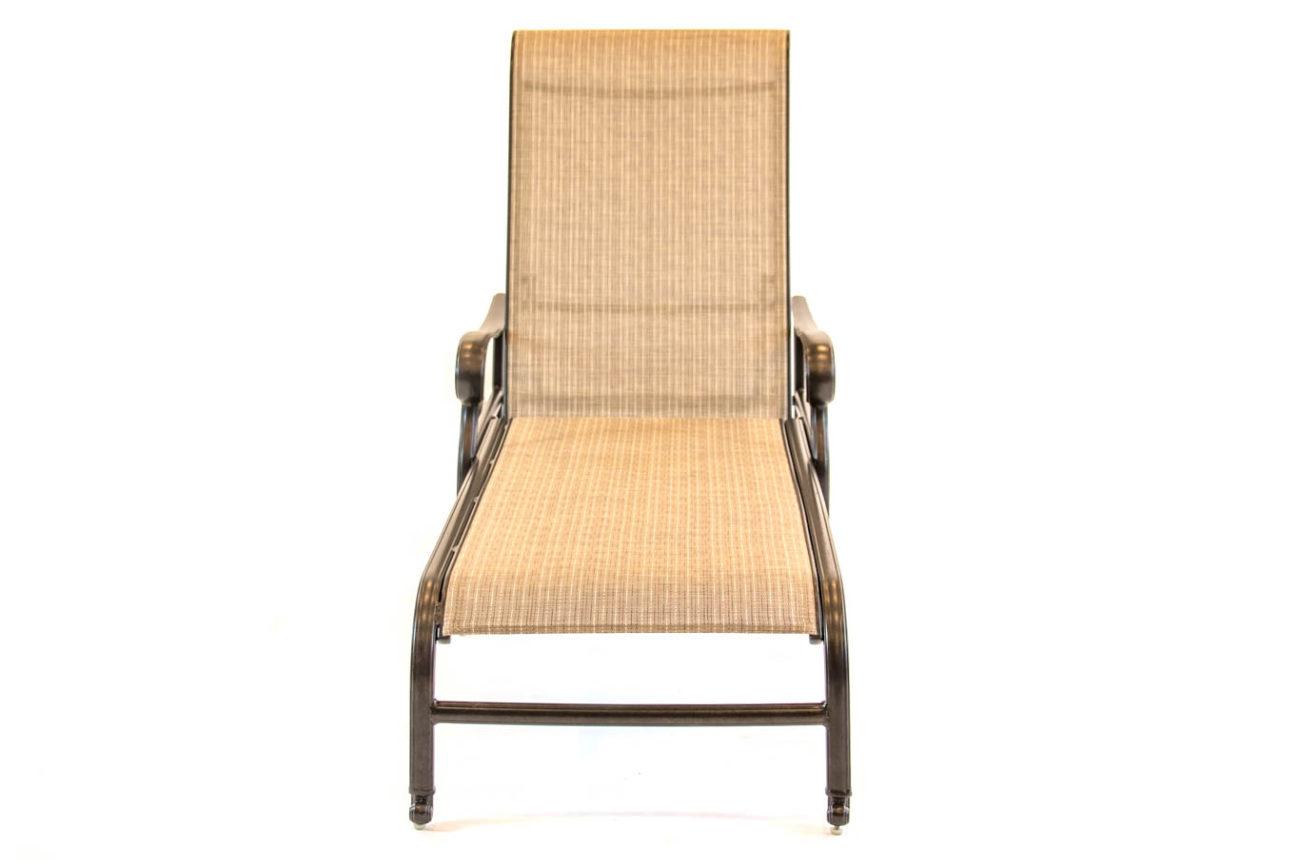 Hanamint Valbonne Aluminum Sling Chaise Lounge