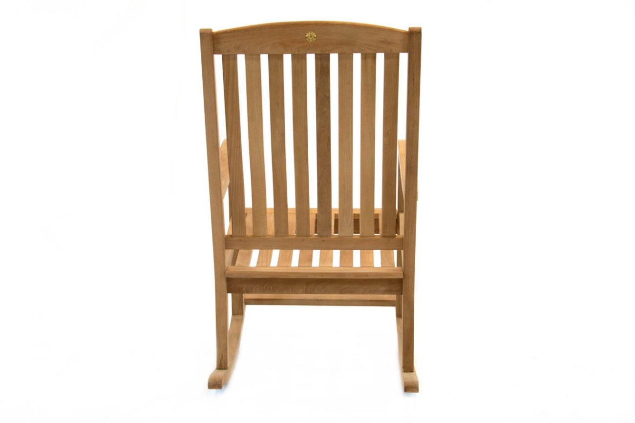 Scancom Dondo Teak Dondo Rocking Chair Premium Patio