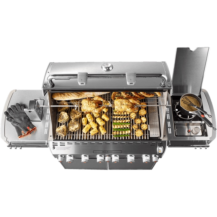 Weber Summit S 670 Gas Grill Stainless Steel Premium