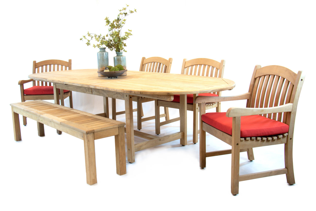 Scancom-Kalimantan-6-Piece-Set-87-118-Double-Extension-Table-Jambi-15-inch-x-71-inch-Bench-Sumbawa-Dining-Chair-Leaf-Opened-Red-Cushion-Decor-1.jpg